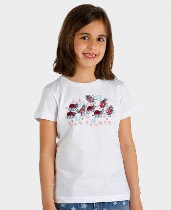 Camiseta niña Running of the bugs