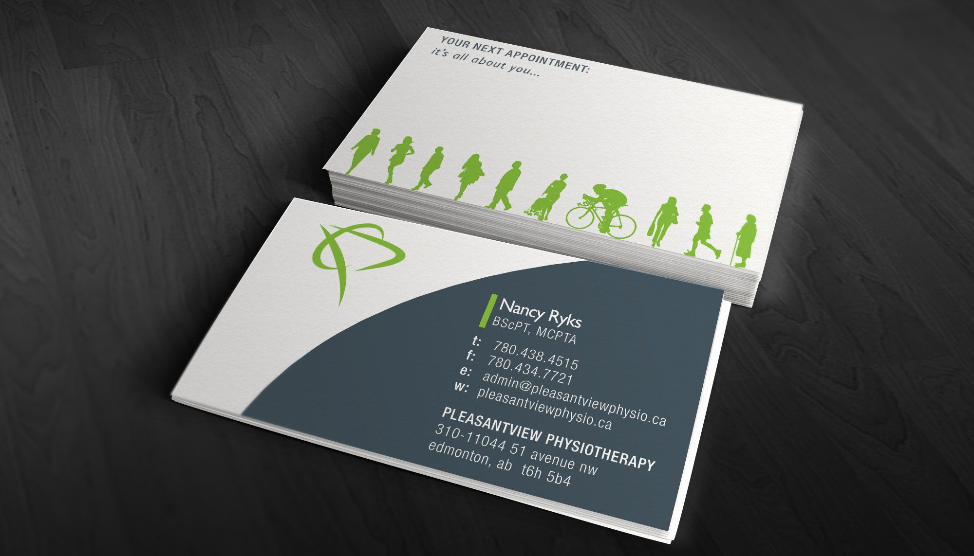 cool physical therapy cards - Google Search | cartão visita ...
