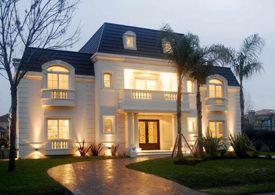 Fachadas estilo frances en aspen construir casa estilo franc s 150 mts2 casas pinterest - Casas clasicas modernas ...