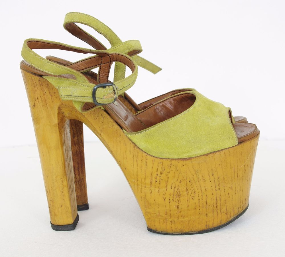1970s platforms that feel very much like those from the 30s and 40s