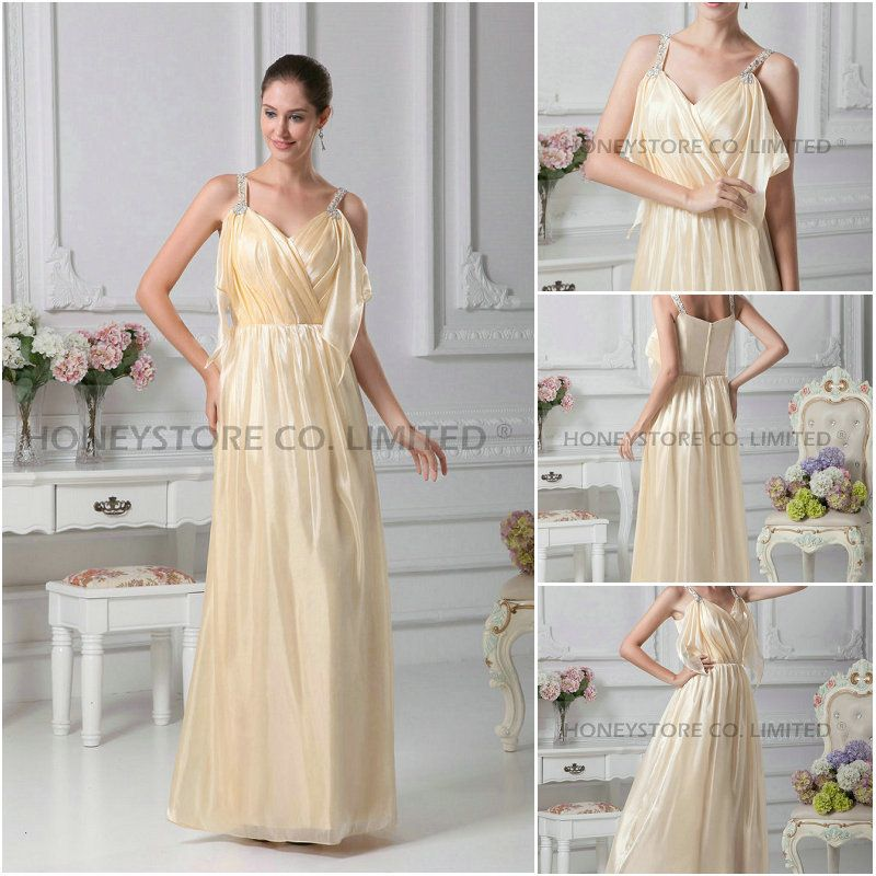 Aliexpress.com   Buy Top Sale Free Shipping Bridesmaid Dresses with V Neck  from Reliable bridesmaid dress v neck suppliers on HONEYSTORE CO. 2304f324e5fe