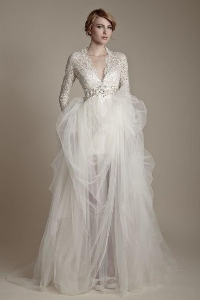 Winter Wedding Dresses This One Is By Ersa Atelier