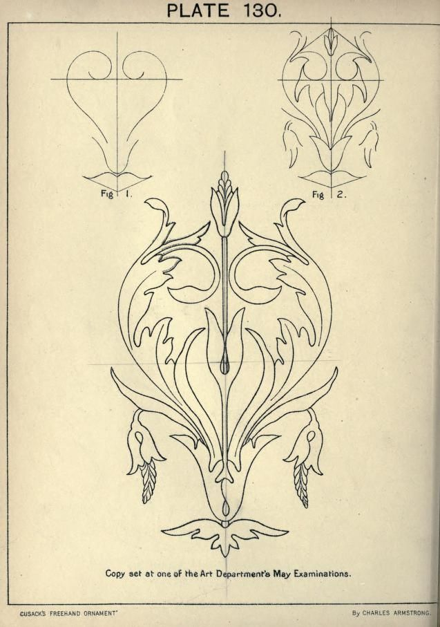 Charles Armstrong, Cusack\'s freehand ornament, London, 1895 ...