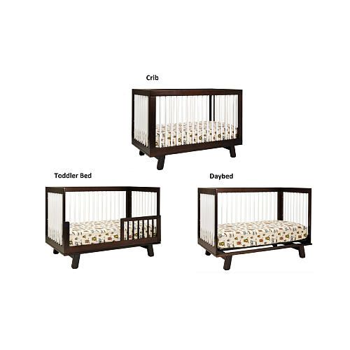 crib natural convertible by cribs washed in hudson babyletto