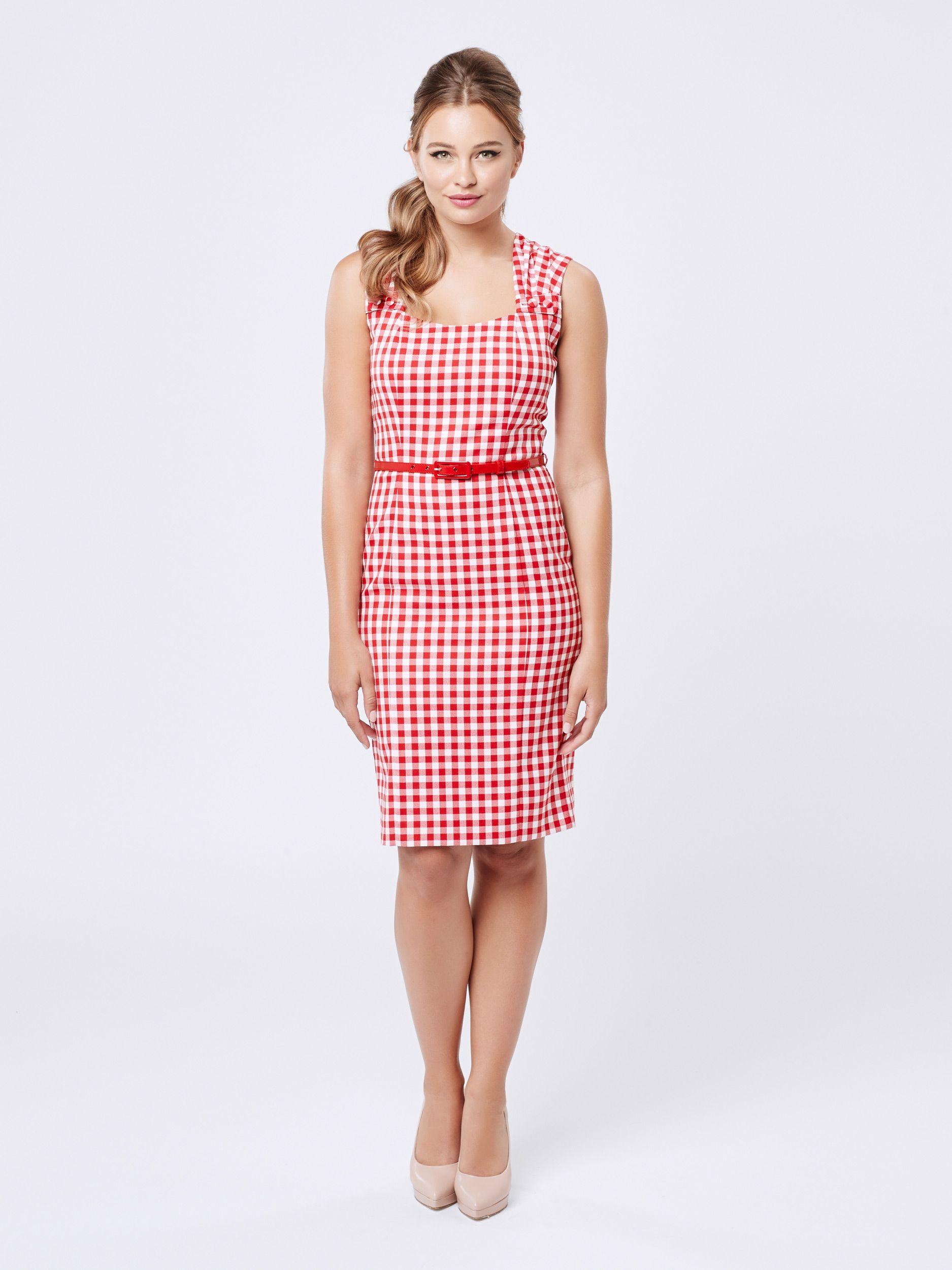 Molita Dress | Gingham | Review Australia | moda | Pinterest
