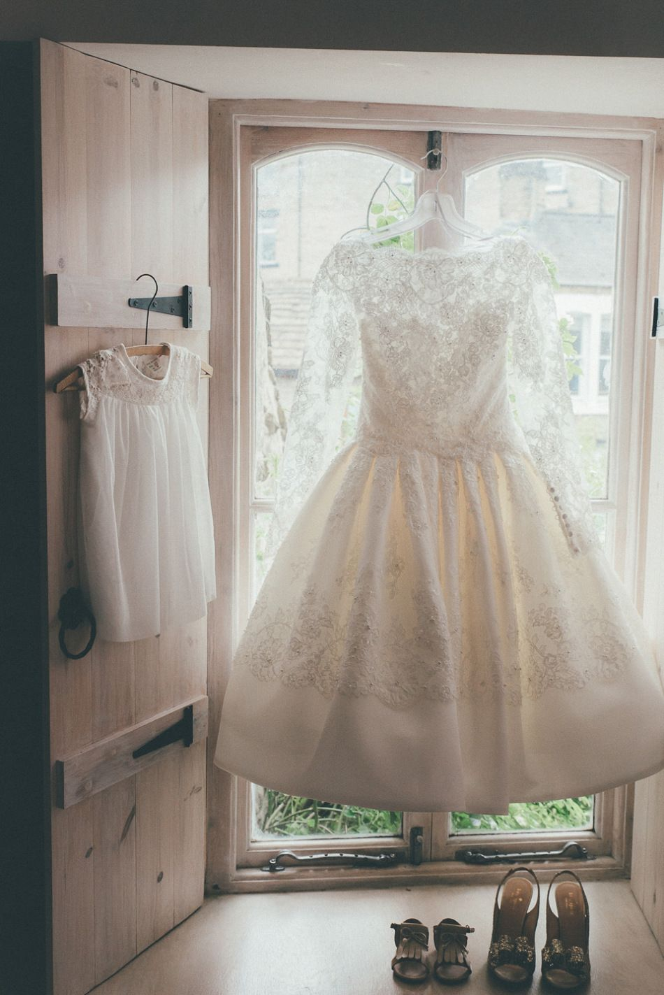 A 50s Style Dress For Family Friendly Village Hall Wedding In Yorkshire