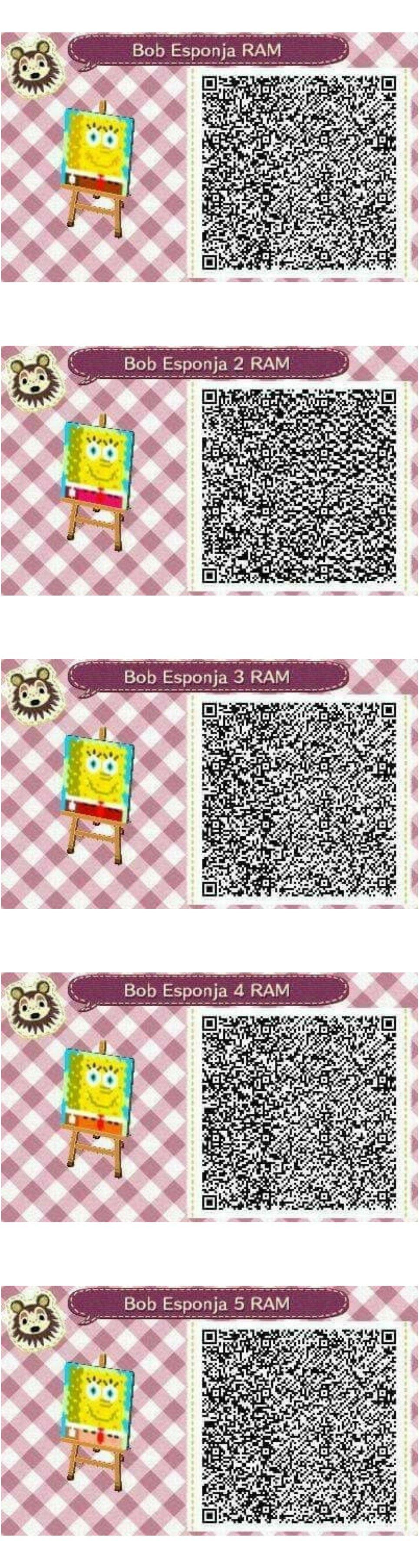 Este es un QR Code para Animal Crossing creado por mí misma. Como podéis observar es un suelo de