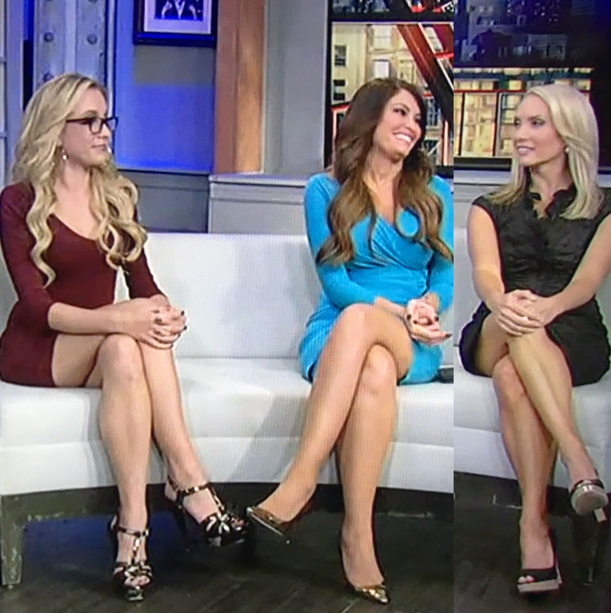 Sexy tv ladies legs upskirt qvc fox news