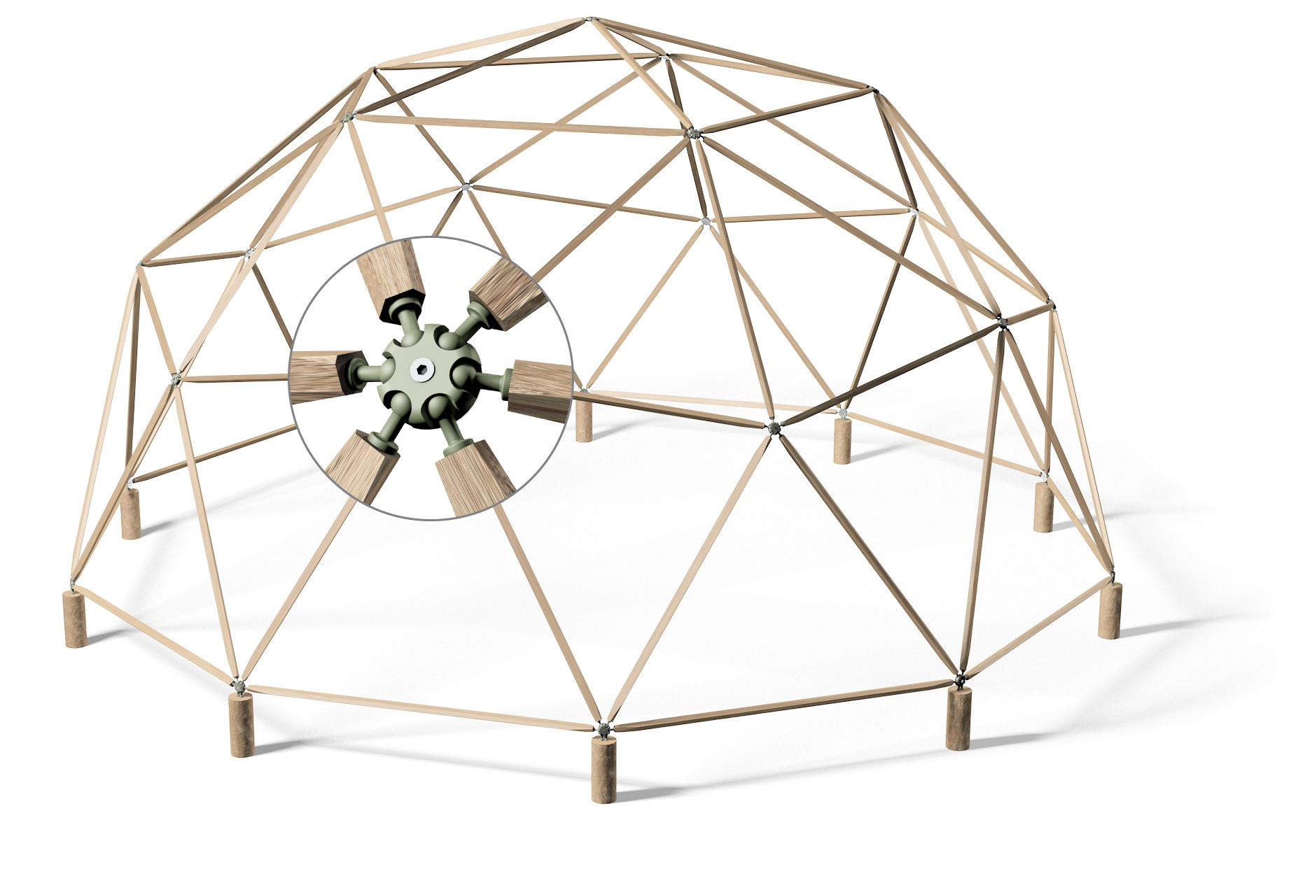 hubs = geodesic domes made simple | Burning Man in 2018 | Pinterest ...