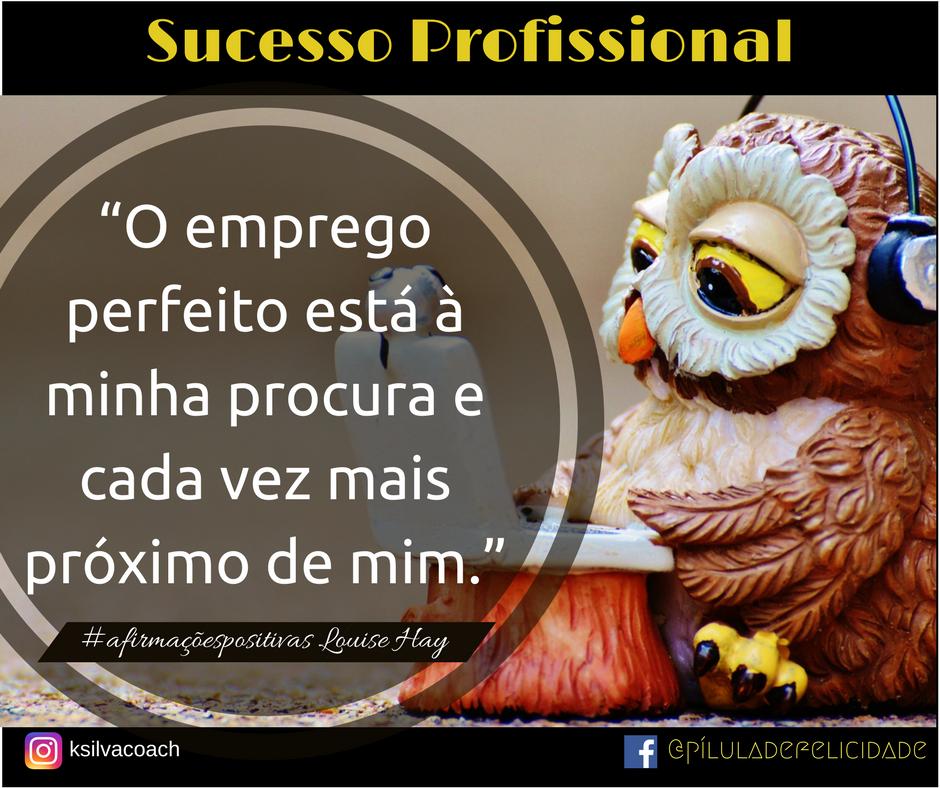 sucesso profissional #sucessopessoal #gratidão  #semlimites #mudançadeatitude #lifecoach #coachdecarreira #soluções #píluladefelicidade #ksilvacoach #afirmaçõespositivas #louisehay