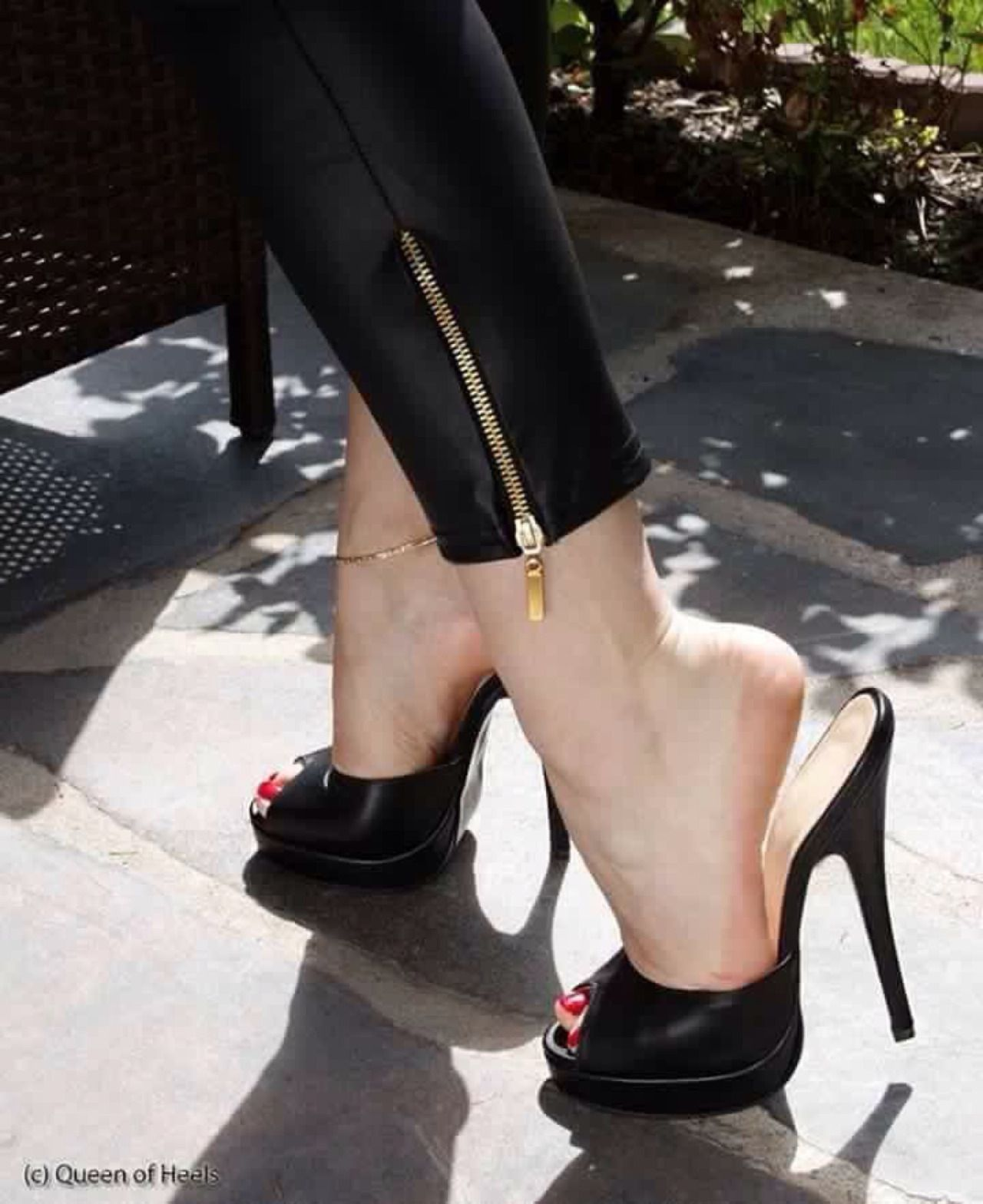Very Sexy Peep Toe Heels &amp Shoeplay | High Heels | Pinterest