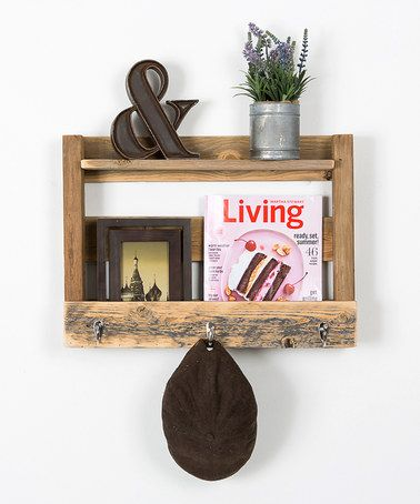 Another great find on #zulily! Rustic Entry Wall Hook by DelHutson Designs #zulilyfinds