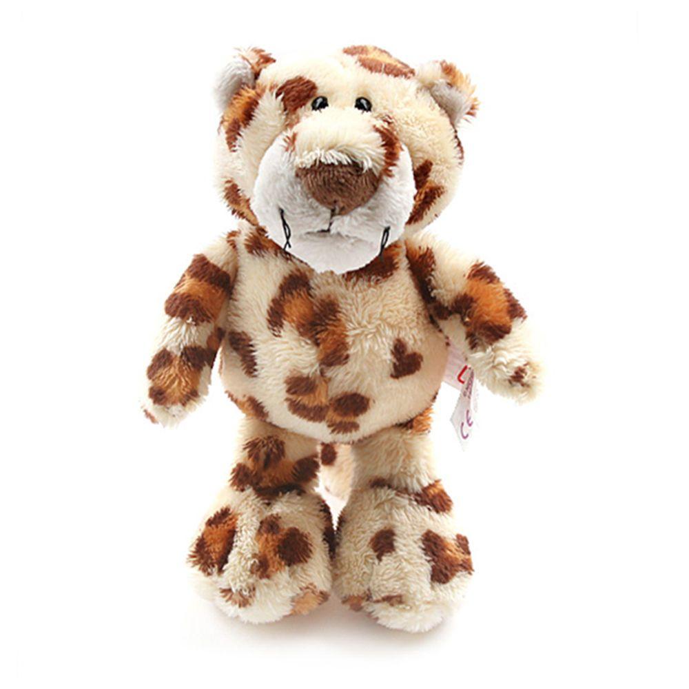 nici leopard dangling rag stuffed animals kids baby boy doll