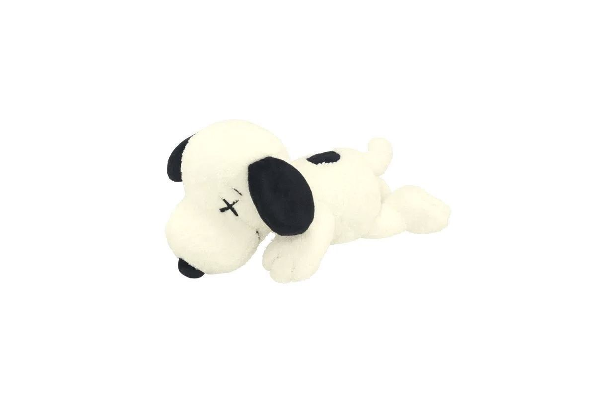 01bf1b27 Check out the Kaws x Uniqlo x Peanuts Snoopy Plush (Small) White available  on StockX
