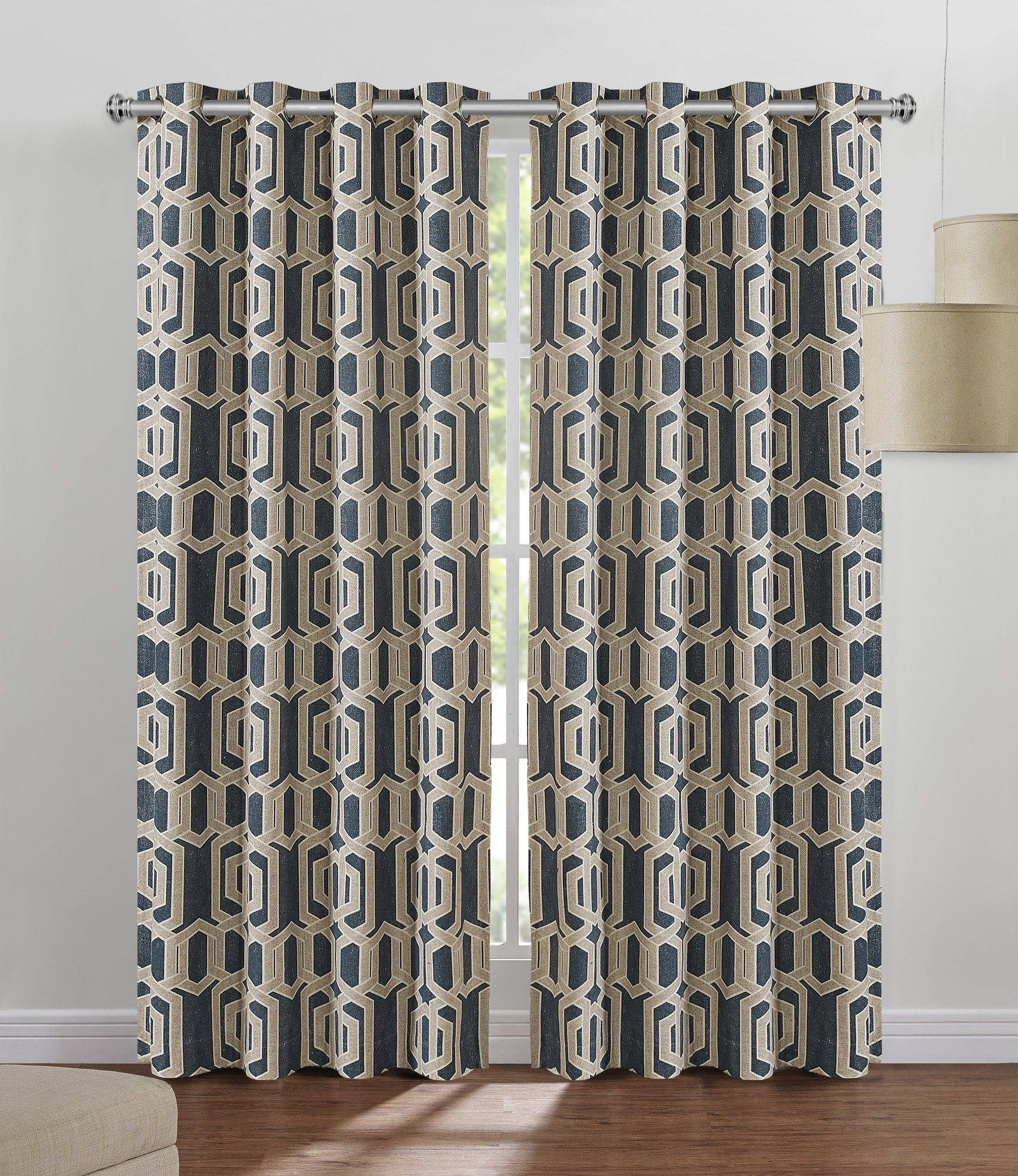 Colborn Indooroutdoor Single Curtain Panel