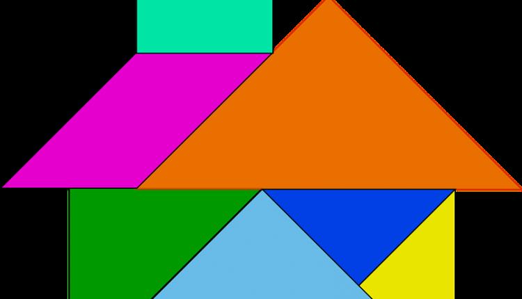 tangram para imprimir colorido  educação e transformação