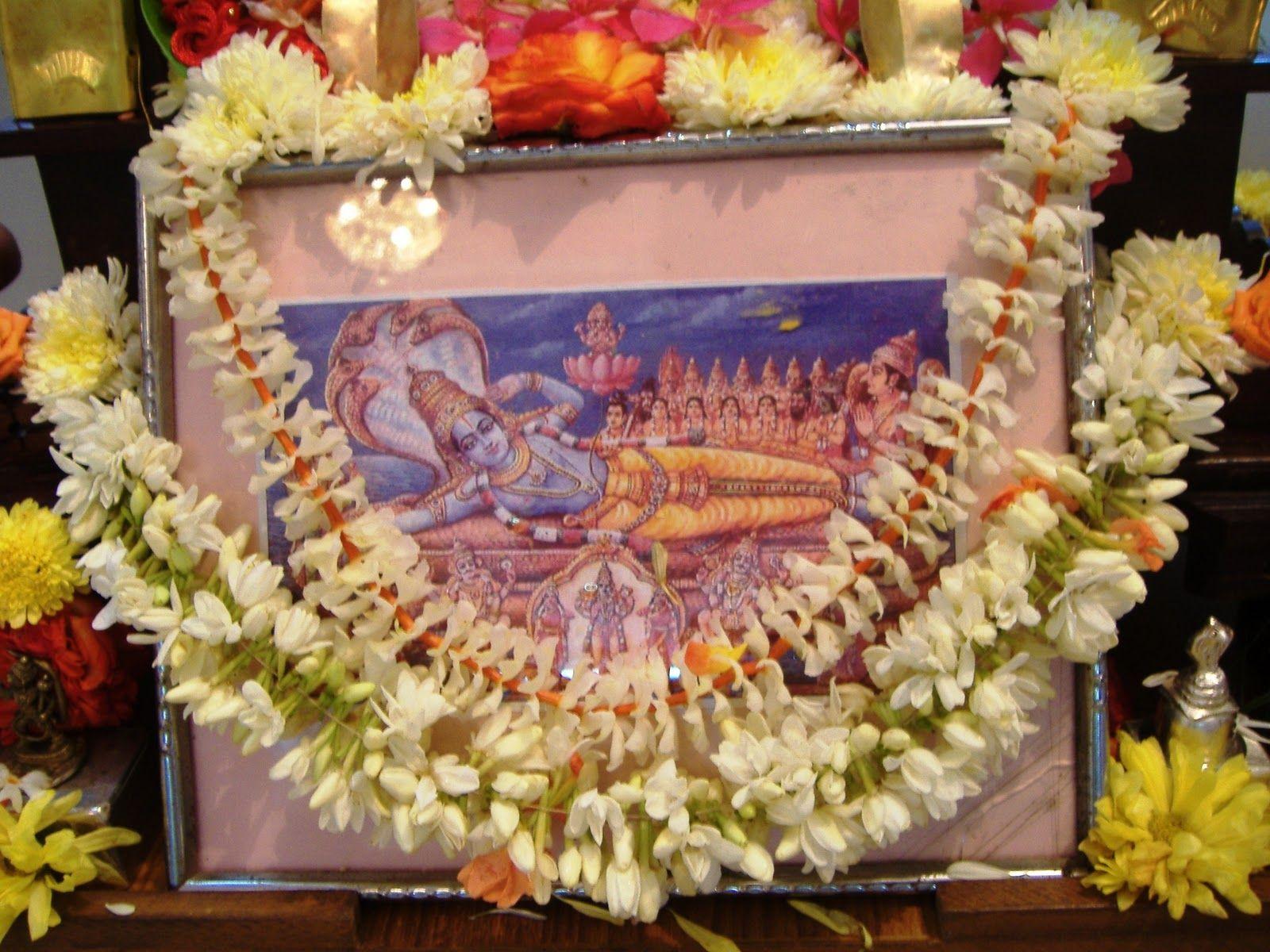 Ananta Chaturdashi Vrata Or Sri Anantha Padmanabha Vratha Divine