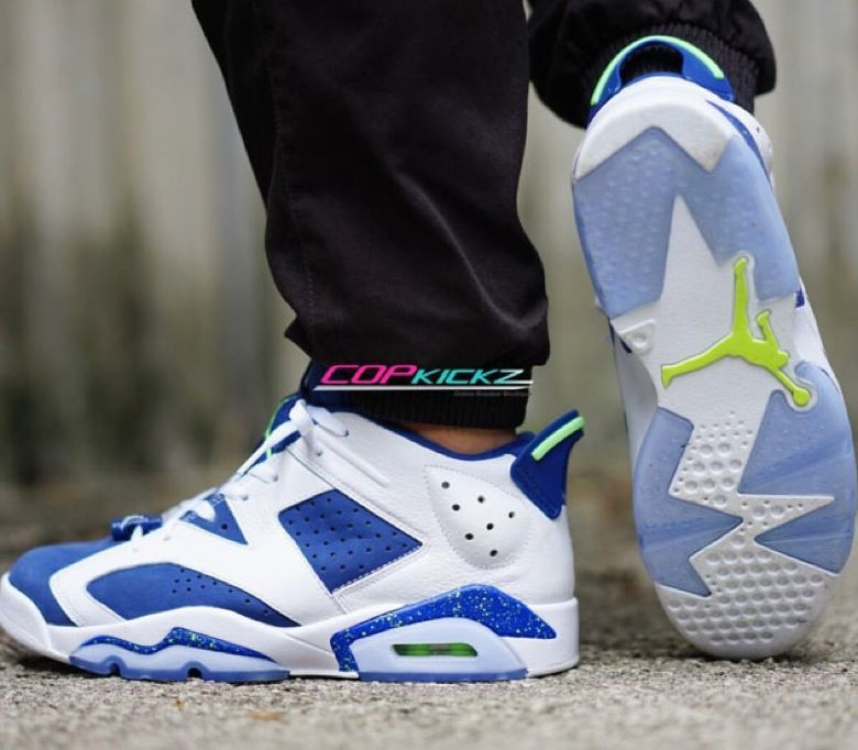 Air Jordan 6 Low Ghost Green « Seahawks