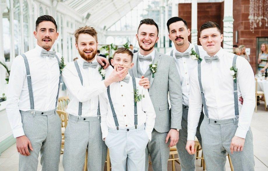 Groom And Ushers Wedding Ushers Weddingphotos Usher Photoideas Braces Greywedding Greyandwhite Wedding Ushers Wedding Officiant Speech What Is Wedding