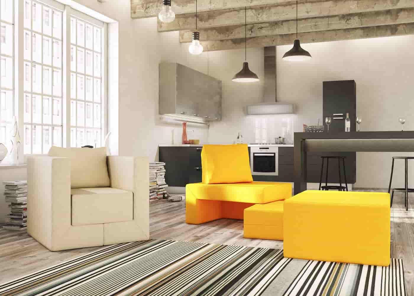 Ein Sessel Der Sich Zum Bett Verwandelt Mit Dem German Design