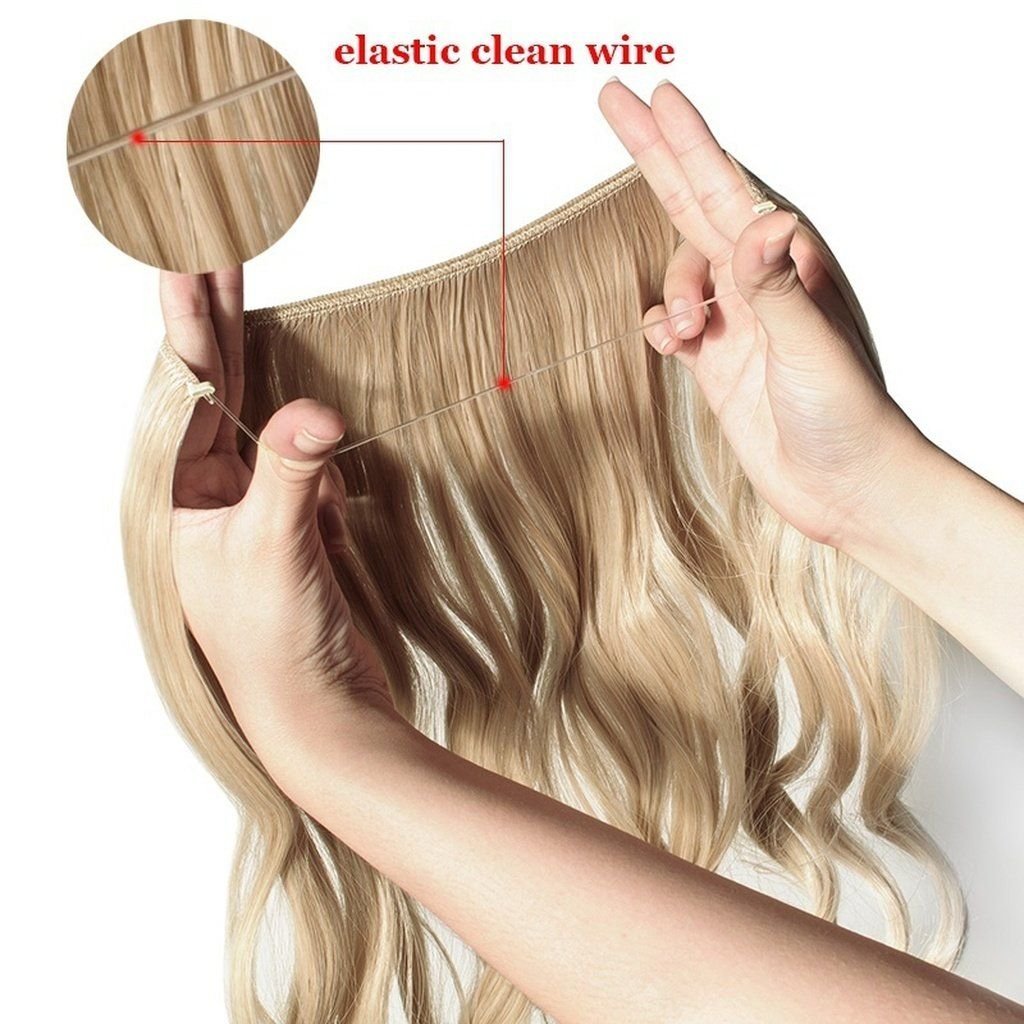 No Clip Elastic Hair Extensions Look All Natural From Bella Bold