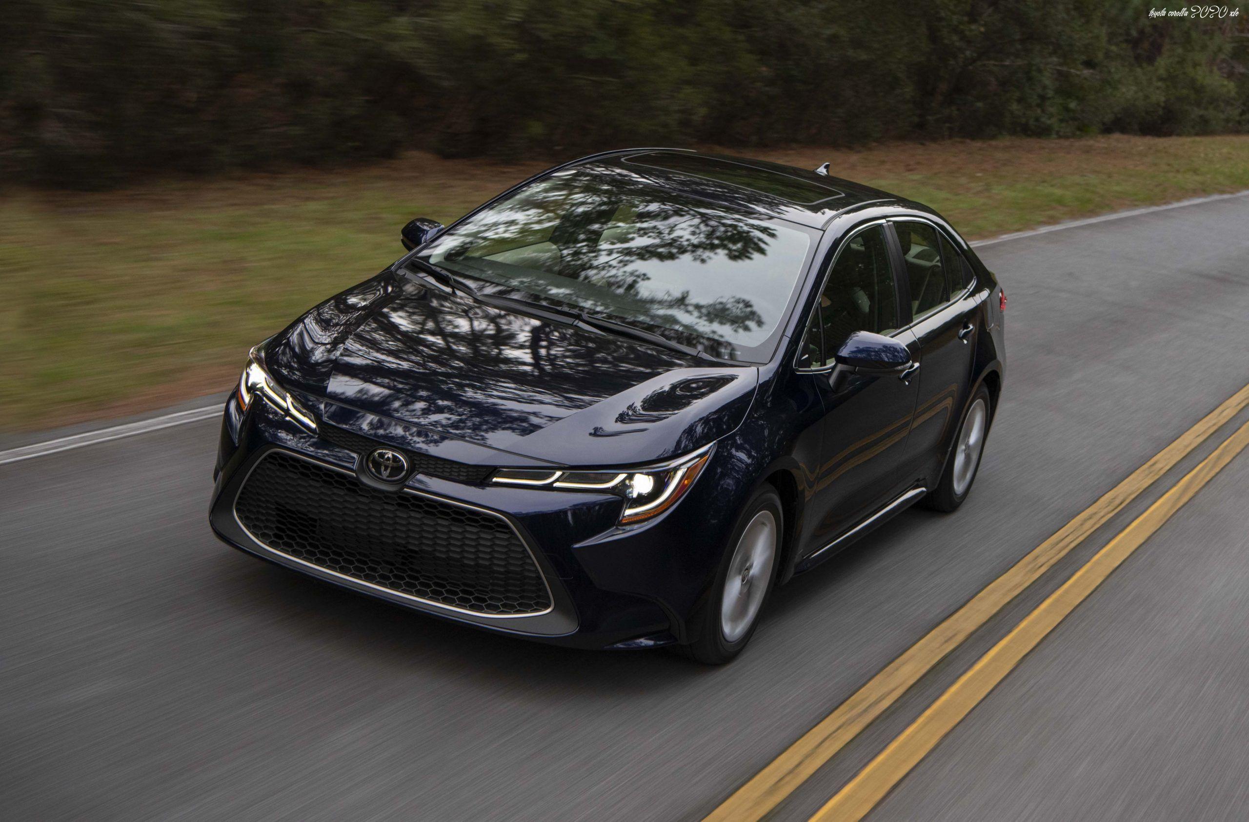 Toyota Corolla 2020 Xle Speed Test In 2020 Toyota Corolla Toyota Corolla Hatchback