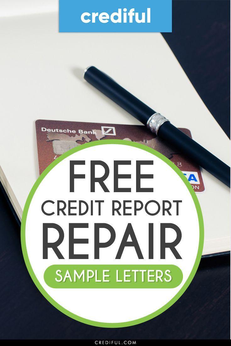 Free credit repair sample letters for 2020 proven