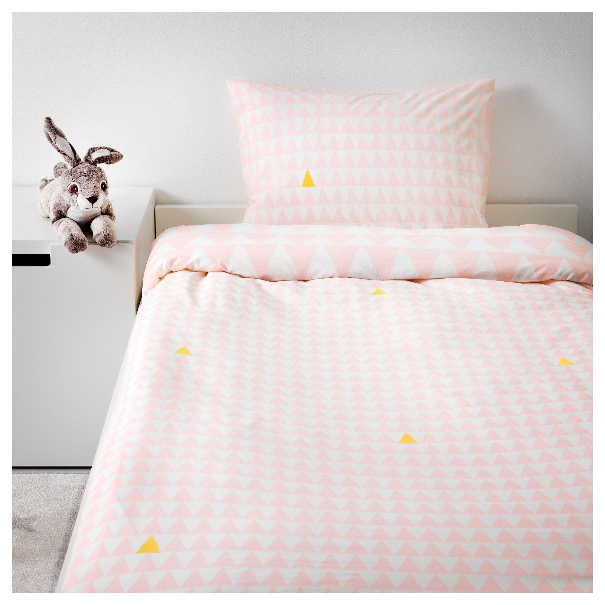 Ikea Stillsamt Light Pink Duvet Cover And Pillowcase S Light