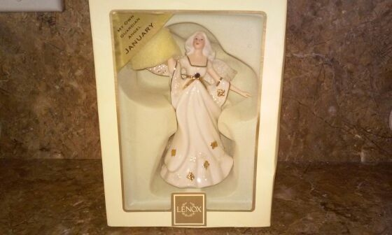 "Lenox ""My Own Guardian Angel"" Porcelain Figurine"