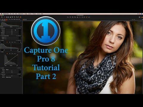 Capture One Pro 8 Tutorial Portrait Retouching Basics Part 2 - YouTube