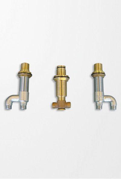 Toto TB6TR Deck Mount Tub Filler Valve Showers Shower Valves 1/2 ...