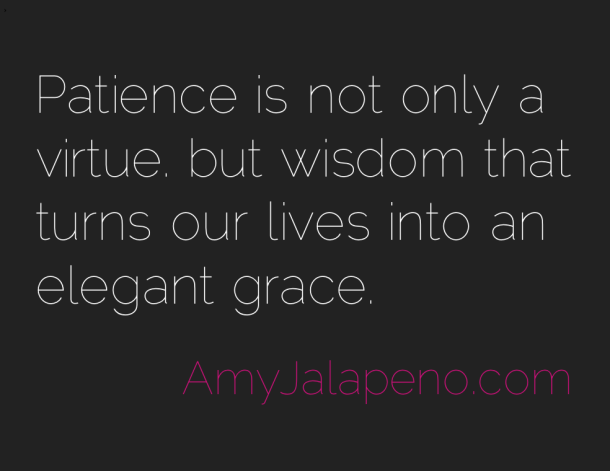 Patience Wisdom Grace Virtue Quotes Pinterest Quotes Wisdom