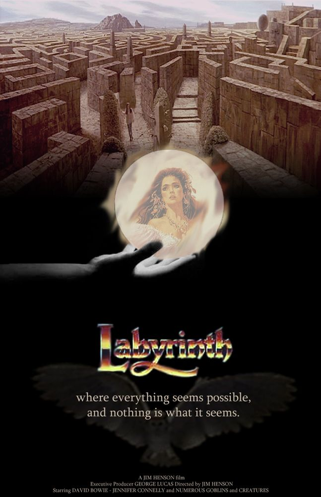 Labyrinth With David Bowie Labyrinth Movie Labyrinth 1986