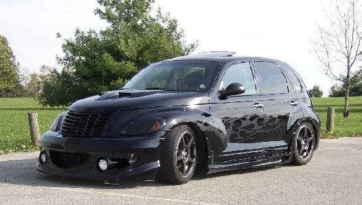 Pimped Out Black Pt Cruiser