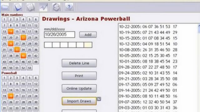 lotto hat lotto software reviews the past winning numbers