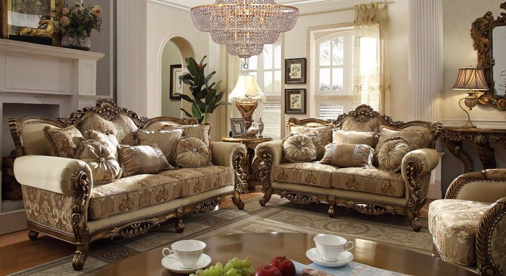 Victorian Formal Living Room Furniture Zachary Horne Homes ...