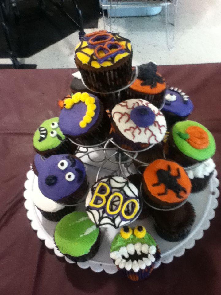 halloween inspired cupcakes - Halloween Inspired Cupcakes