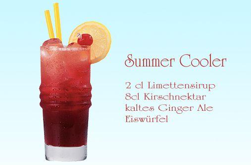 cocktails f r kinder summer cooler drinks pinterest cocktails f r kinder cocktails und. Black Bedroom Furniture Sets. Home Design Ideas