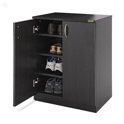 Zuari Shoe Cabinet Smart Imperial Teak Finish | Home Ideas ...