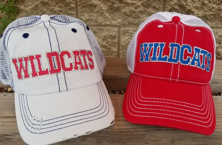 b947f7e4ae8a7 Rhinestone Baseball Mom Trucker Hat