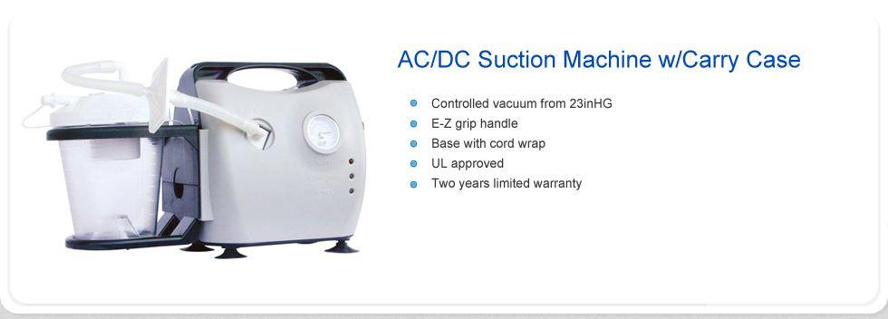 Acdc suction machine suction machine medical supplies
