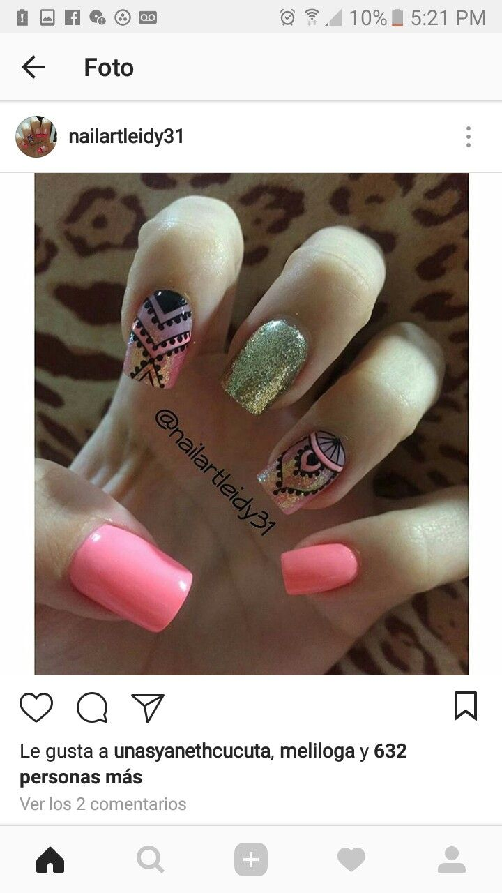 Pin by Daniela Cifuentes on Uñas  Pinterest  Manicure Makeup and