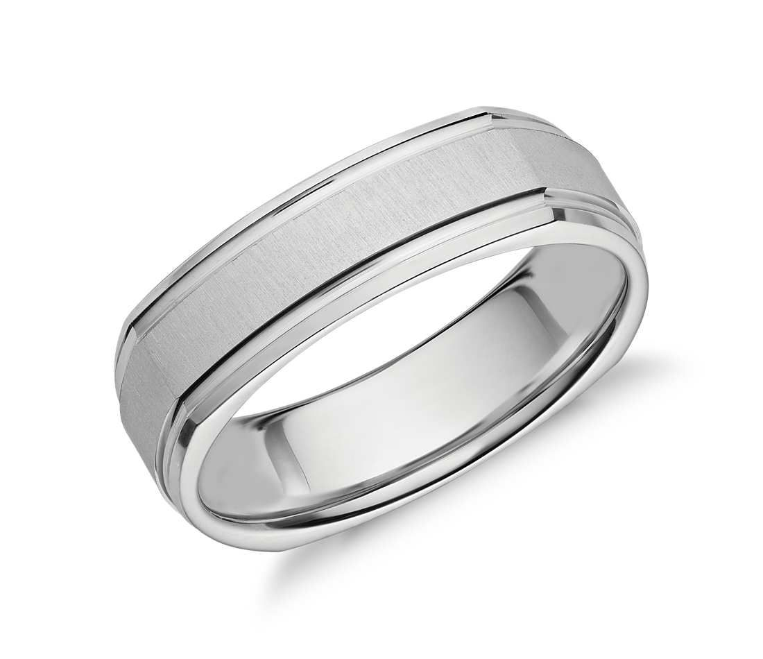 brushed breathtaking tif bands sale mens platinum for affordable band diamond wedding