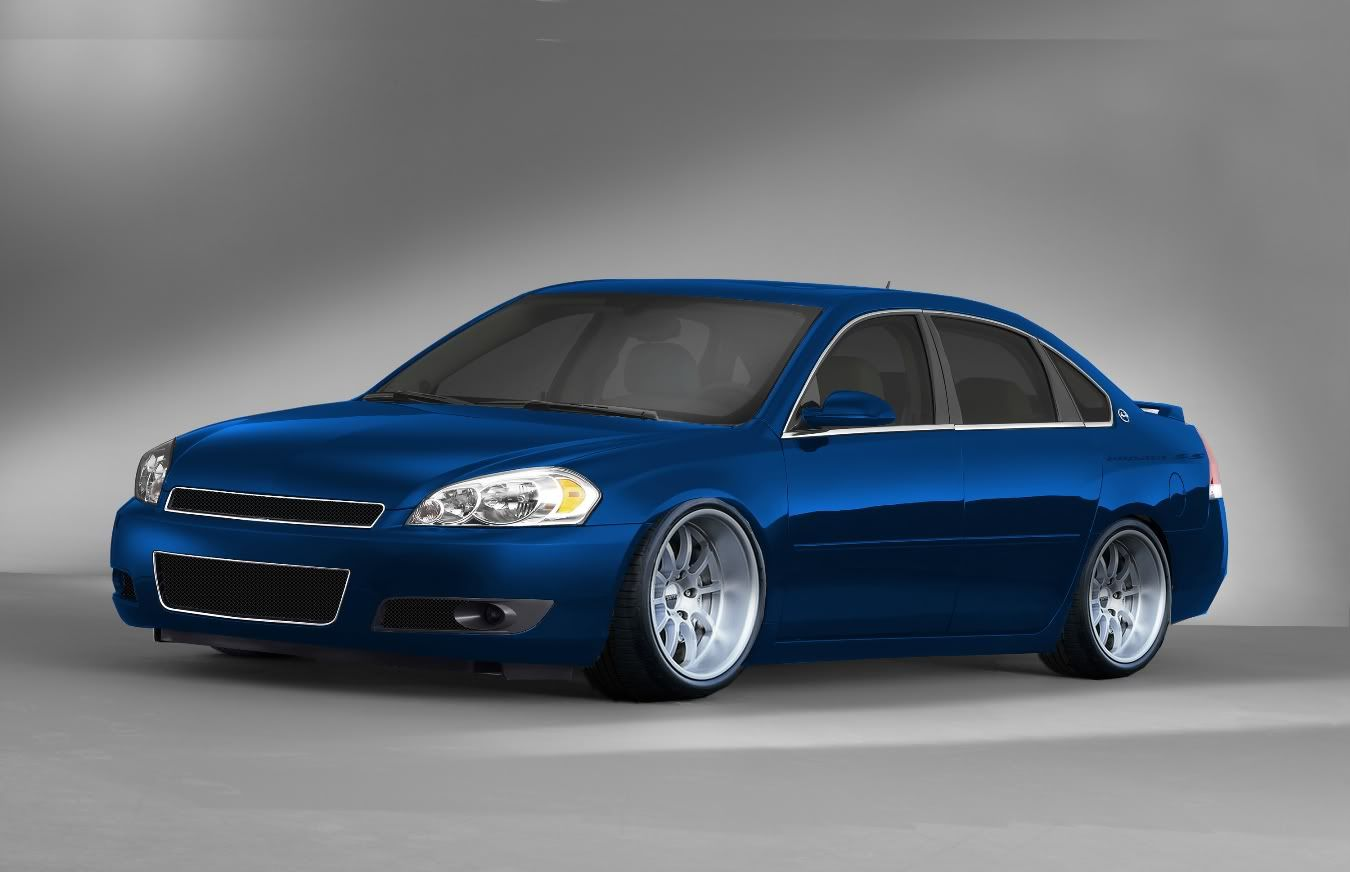 2006 chevy impala ss laser blue i ve been driving this since 11 2013 one of the most fun cars to drive and in the right light it looks purple  [ 1350 x 872 Pixel ]