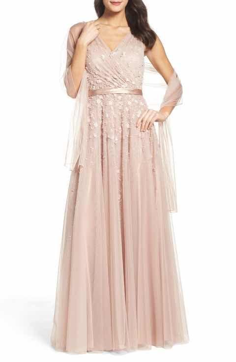 Mac Duggal Embellished Mesh Gown | Razzle Dazzle | Pinterest ...