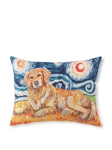 44% OFF Van Growl Golden Retriever Pillow