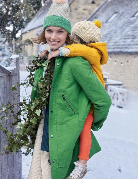 Moleskin Duffle Coat WE567 Coats at Boden | clothes to buy ...