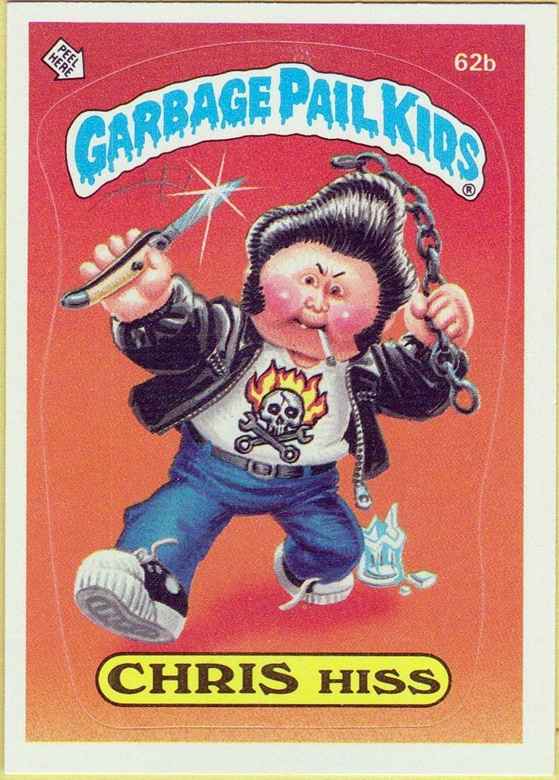 Garbage Pail Kids Friday Night 7 Eleven Purchases In The Summer With The Brothers Les Crados Dessins Effrayants Enfance