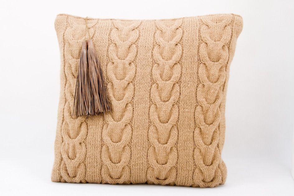 Cushion  45x45cm or 50x50cm 100% Handmade By Atelier Avanzar