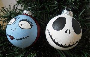 Nightmare Before Christmas Ornament